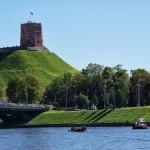 Plaustai Vilnius Gedimino kalnas
