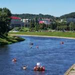 Plaustai Vilniuje